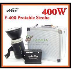 Nice F-400 400w Portable Strobe Outdoor Studio Flash Light