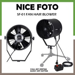 Nicefoto SF-01 Professional 220V Photography Studio Fan High Speed Dedicated Hair Fan Air Blower