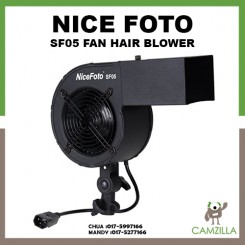 NICEFOTO SF-05 PRO Studio Hair Fan 120W Studio Wind Fan Hair Blower for Fashion Portrait Photo Shooting