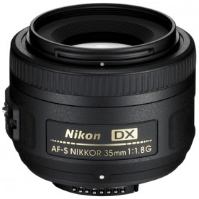 Nikon 35mm f/1.8G AF-S DX Wide Angle Auto Focus Nikkor Lens - Free Shipping