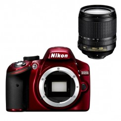 Nikon D3200 RED Digital SLR Camera 18-105mm Lens Kit Free 8GB + Bag