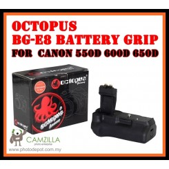 Octopus Battery Grip BG-E8 DSLR Canon 550D 600D 650D