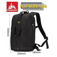 One Polar Flipside 300 DSLR Camera Backpack -  Black