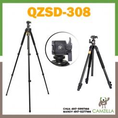 QZSD Q308 lightly armed era camera tripod single micro Canon Nikon SLR photography