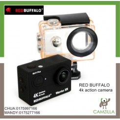 RED BUFFALO WARRIOR XR 4K ACTION CAM