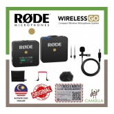 Rode Wireless GO Compact Wireless Microphone System 2.4 GHz (Rode Malaysia 24+6 Months Warranty)