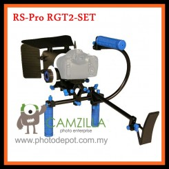 RS-Pro RGT2-SET  DSLR Shoulder Mount Rig & Follow Focus & Bracket & Top Handle Grip