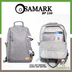 SAMARK BP-130 CAMERA PROFESIONAL CAMERA BACKPACK - GREY