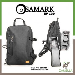 SAMARK BP-130 CAMERA PROFESIONAL CAMERA BACKPACK - BLACK