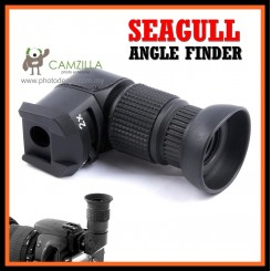 SEAGULL 1X 2X Power Right Angle Finder Viewfinder for Canon Nikon Pentax Sony