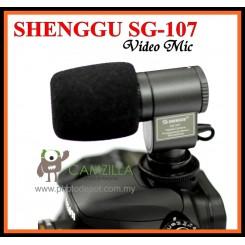 New SG-107 DV Stereo Microphone for Canon Nikon Sony SLR Camera / DV / Camcorder