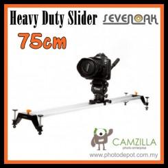 Sevenoak SK-GT75 Heavy Duty Cam Slider 75cm Cam Track Slider for DSLR Video Camera Handycam