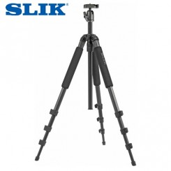 SLIK SPRINT PRO II GM TRIPOD WITH BALLHEAD - SUPPORTS 4.5 LBS (2KG) - GUNMETAL
