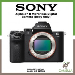 Sony Alpha α7 II Full Frame Mirrorless Camera Body only