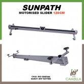 Sunpath 120cm 1.2m Portable professional Electric Control DSLR Camera Slider Motorized Photo Cameras Stabilizer Track dolly rail