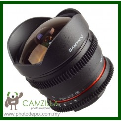 Samyang 8mm T3.8 VDSLR Fish-Eye Lens (Sony Alpha)