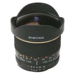 Samyang 8mm f/3.5 AE Aspherical IF MC for Nikon Mount - (Free Shipping)