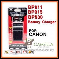 Sanger Digital Camera Battery Charger for Canon BP911 BP915 BP930 BP945
