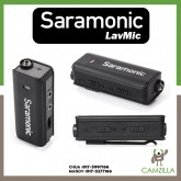 "Saramonic ""LavMic"" Premium Lavalier Microphone with 2-Channel Audio Mixer and Outputs for iPhone/Android Smartphones, GoPro, DSLR Cameras, Camcorders & Portable Recorders"