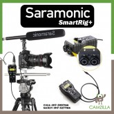 Saramonic SmartRig+ 2-Channel XLR/3.5mm Microphone Audio Mixer with Phantom Power Preamp & Guitar Interface for DSLR Cameras, Camcorders, iPhone, iPad, iPod, and Android Smartphones