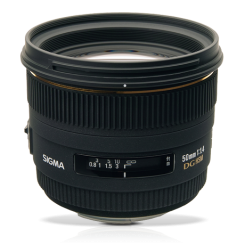 Sigma 50mm F1.4 EX DG HSM for Canon EOS
