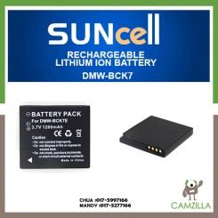 Suncell Digital Camera Battery Rechargeable DMW-BCK7