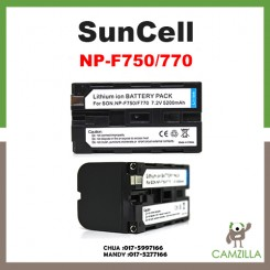 Suncell Sony NP-F770 Compatible Battery for Sony DCRVX2100, HDRFX1, HDRFX7