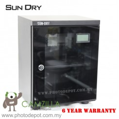 Sundry AD026C (24L) Dry Cabinet Dry Box for Digital DSLR Camera Lens - 6 Year Warranty