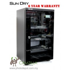 Sundry D058 (50L) Dry Cabinet Dry Box Digital Meter - 6 Year Warranty