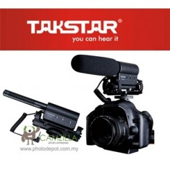 TAKSTAR SGC-598 Professional Stereo Microphone for DV / DSLR Camera