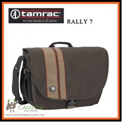 Tamrac 3447 Rally 7 DSLR Camera / Laptop Bag (Brown with Tan)