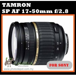 Tamron AF 17-50mm F2.8 XR Di-II LD SP Aspherical (IF) for Konica Minolta and Sony