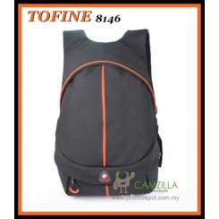 Tofine 8146 Dslr Camera Backpack 15 ' inch Laptop - Black