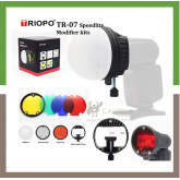 TRIOPO TR-07 MagDome Color Filter Reflector Honeycomb Diffuser Ball Photo Accessories Kits