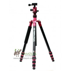 Triopo MF4251+B-1T Red Multi-function Tripod / Monopod