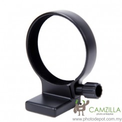 Camzilla Tripod Mount Ring A (W) for Canon EF USM 100mm f/2.8 Macro Lens (Black) (Replace Canon Tripod Ring Mount B)