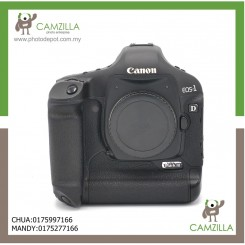 USED CANON 1D MARK III BODY-NEW SHUTTER+2 BATTERY AND CHARGER
