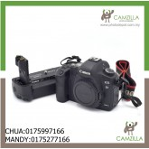 USED CANON 5D MARK II BODY SC:50K WITH ORI BATTERY GRIP