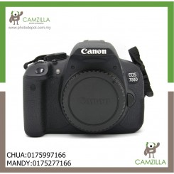 USED CANON 700D-SC14K