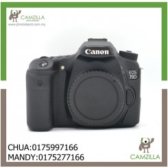 USED CANON 70D BODY-50K