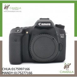 USED CANON 70D BODY-16K