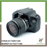 USED CANON 550 D BODY SC:5K WITH CANON LENS EF-S 18-55mm 1:3.5-5.6 IS