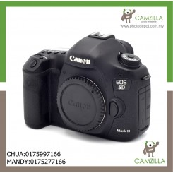 USED CANON 5D MARK III BODY SC:15K