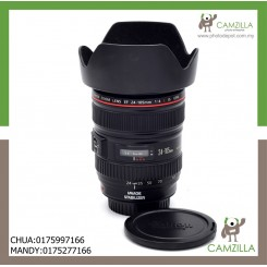 USED CANON LENS EF 24-105 mm 1:4 L IS USM