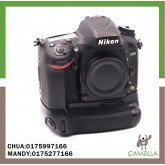 USED NIKON D600 BODY WITH BATTERY GRIP SC:19K