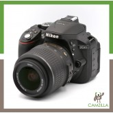 USED NIKON D5300 BODY SC:17K WITH NIKON 18-55mm1:3.5-5.6 G DX