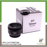 USED CANON LENS 50mm 1:1.8 STM