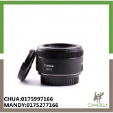 USED CANON LENS EF 50mm 1.8 STM