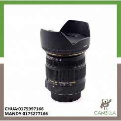 USED SIGMA LENS 17-50mm 1:2.8 EX HSM FOR CANON