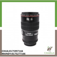 USED CANON LENS EF 100mm f2.8 L IS USM